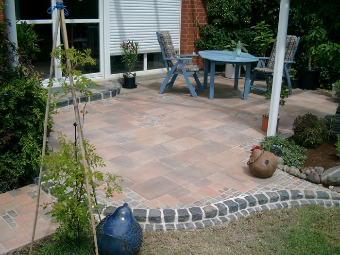 Terrassen Natursteinplatten Kreative Ideen F R