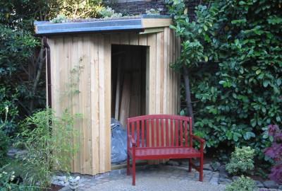 Holz Gartenhaus Gartenbau Landschaftsbau Erftstadt Köln