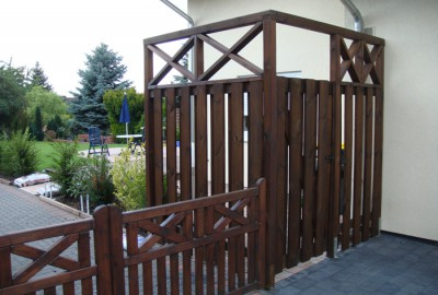 Holz Zaun Gartenbau Landschaftsbau Erftstadt Köln