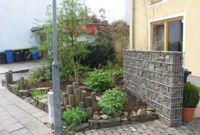 Metall Gabionen Gartenbau Landschaftsbau Erftstadt Köln