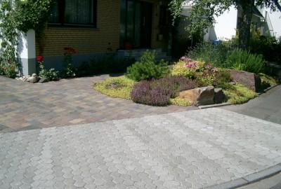 Stein Einfahrt Gartenbau Landschaftsbau Erftstadt Köln