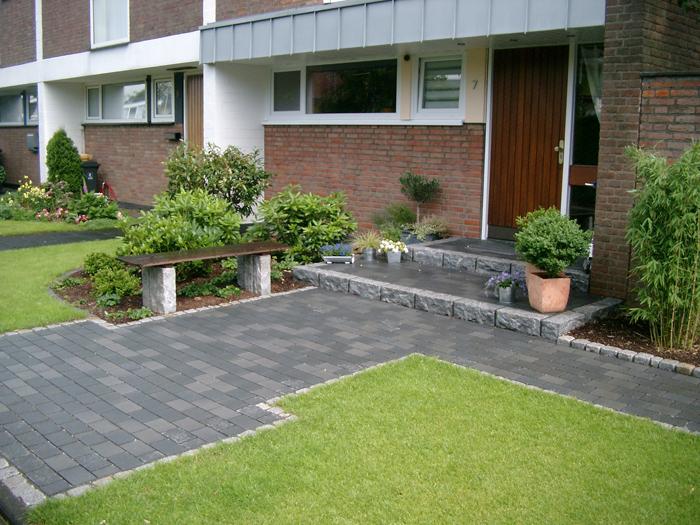 Stein Hauseingang Gartenbau Landschaftsbau Erftstadt Köln